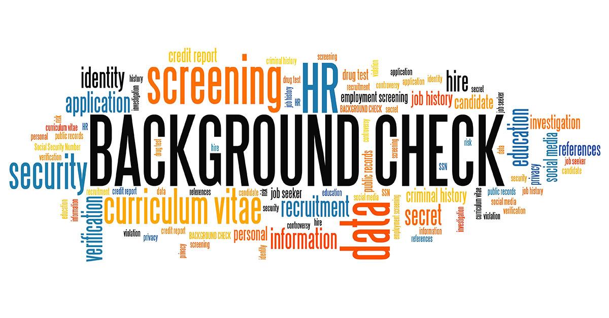 fraud background checks