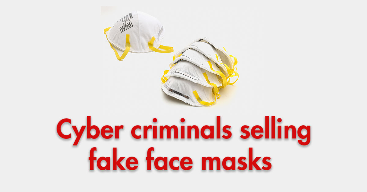 fake face masks