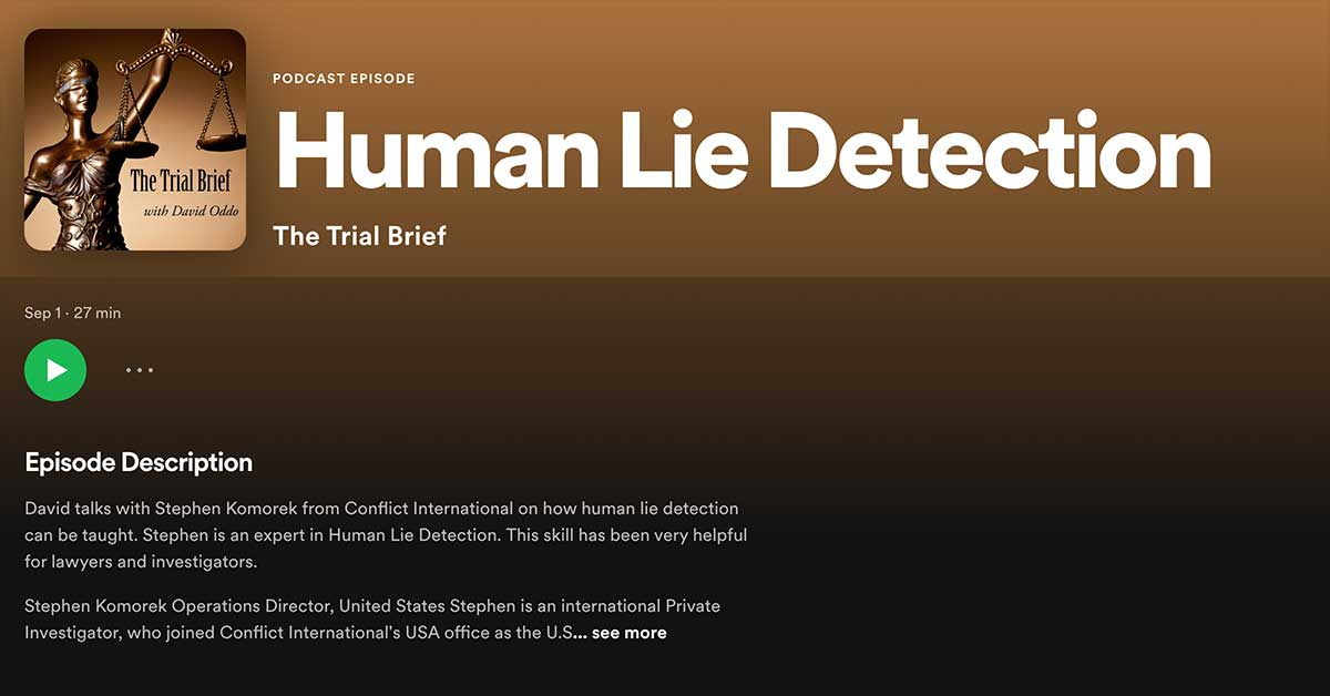 podcast the trial brief