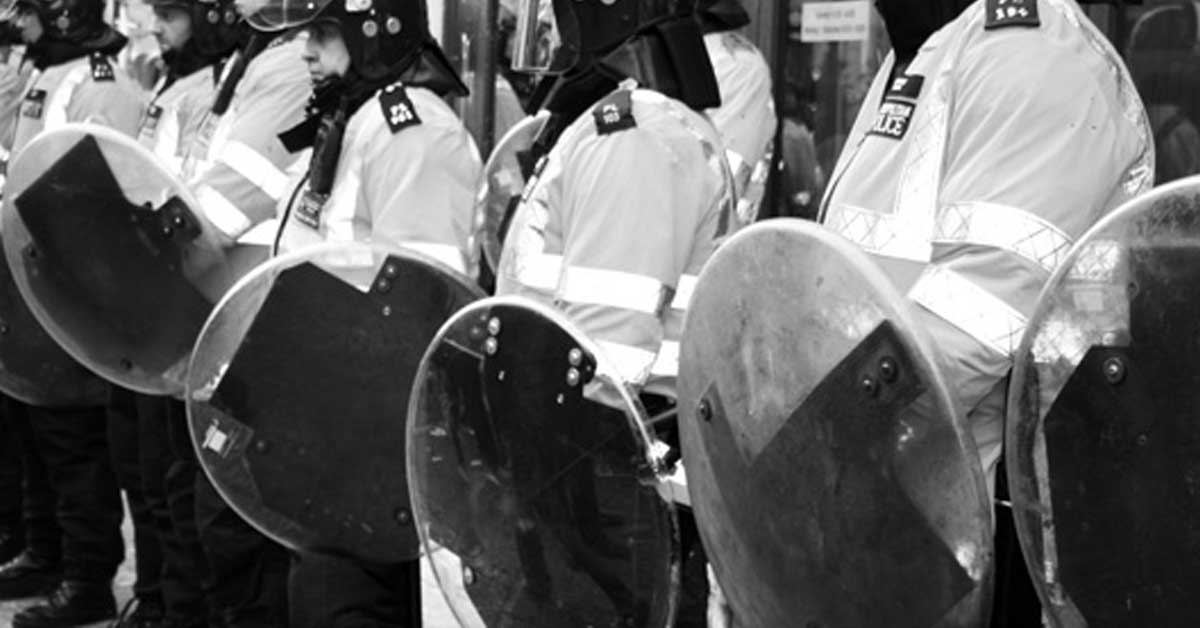 riot shields