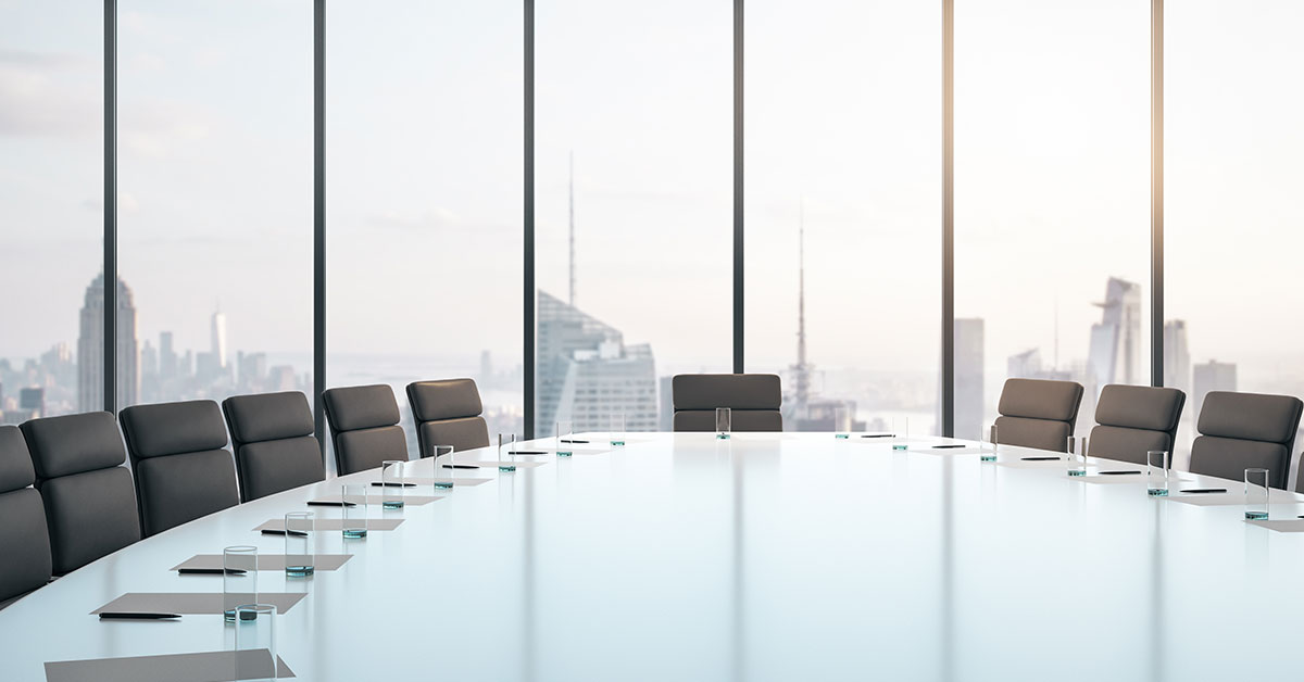 Boardroom left isolated that could lead to bugs in the office.
